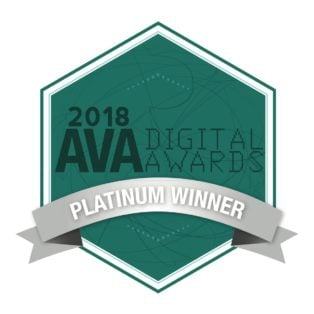 Award AVA Digital Awards 2018