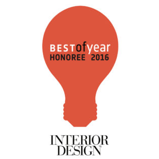 Award Interior Design Honoree 2016