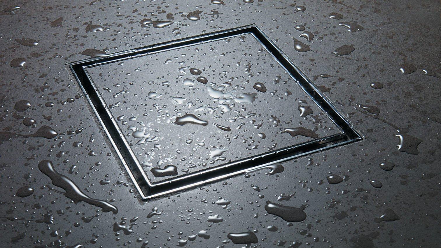 Cal Faucets Style Drain Tile slate