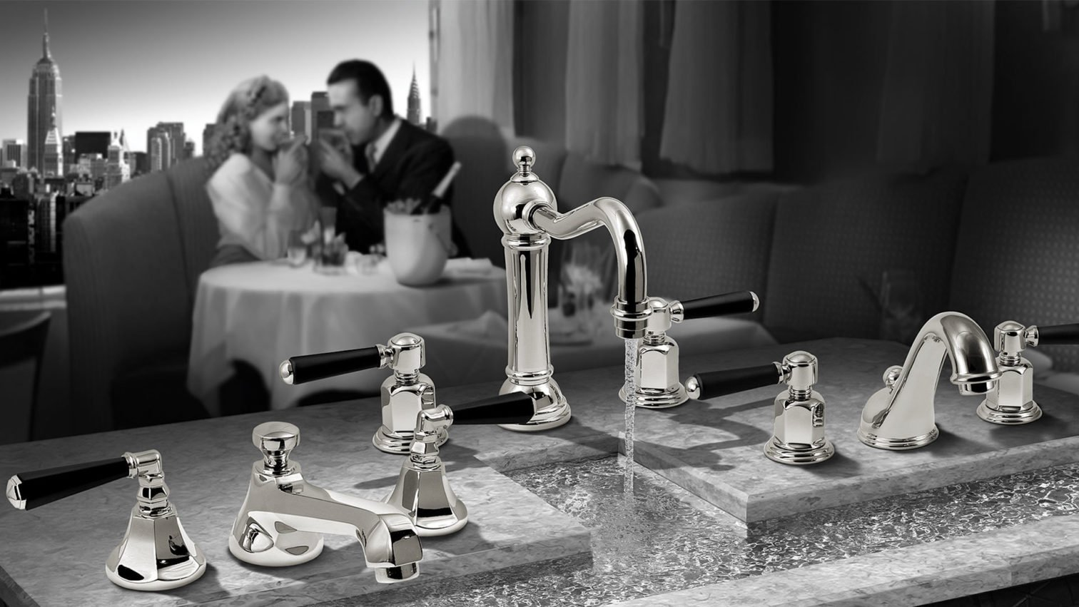 Presenting The Art Deco Collection By California Faucets California Faucets