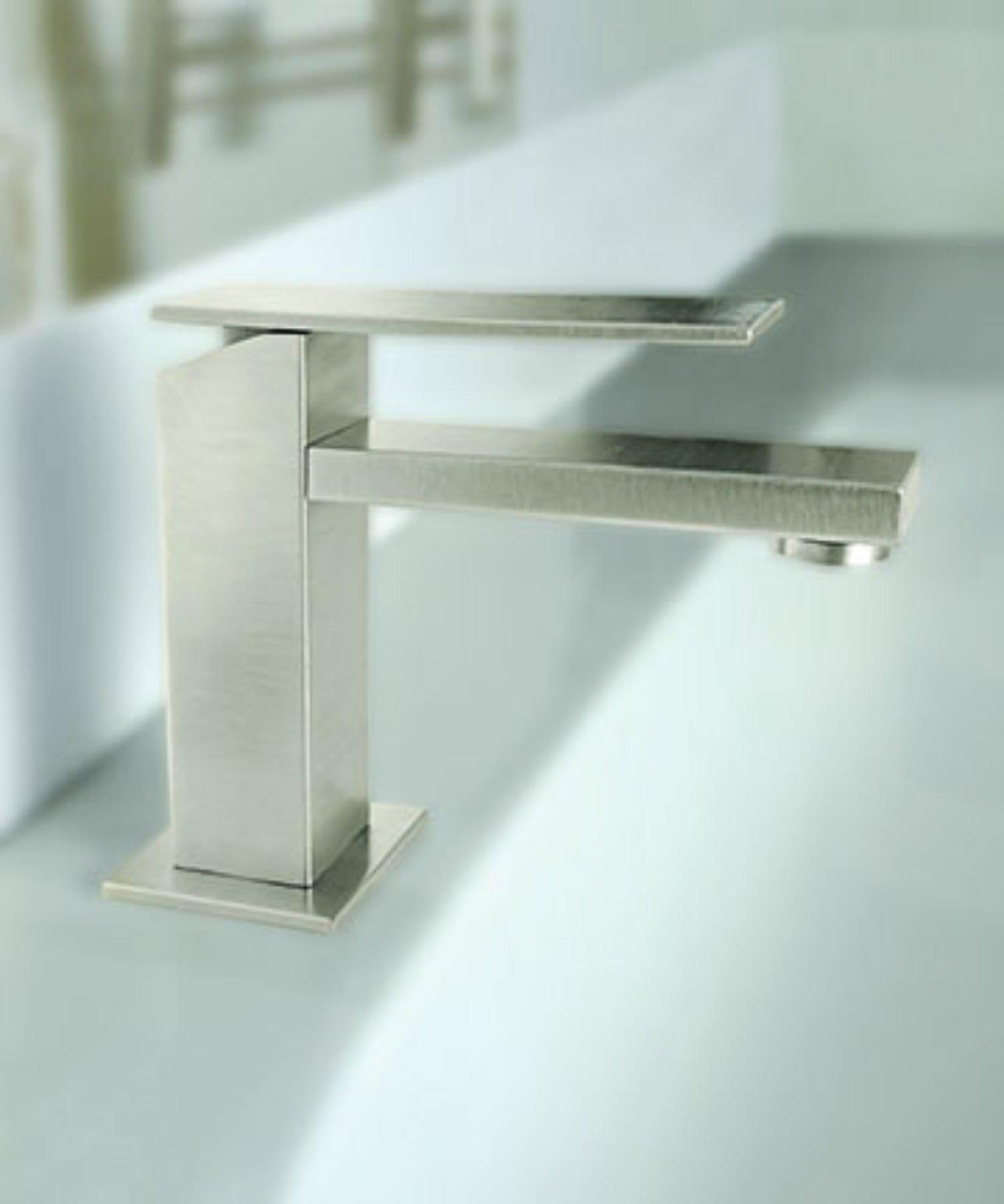 Morro Bay Single Hole Faucet on Sink