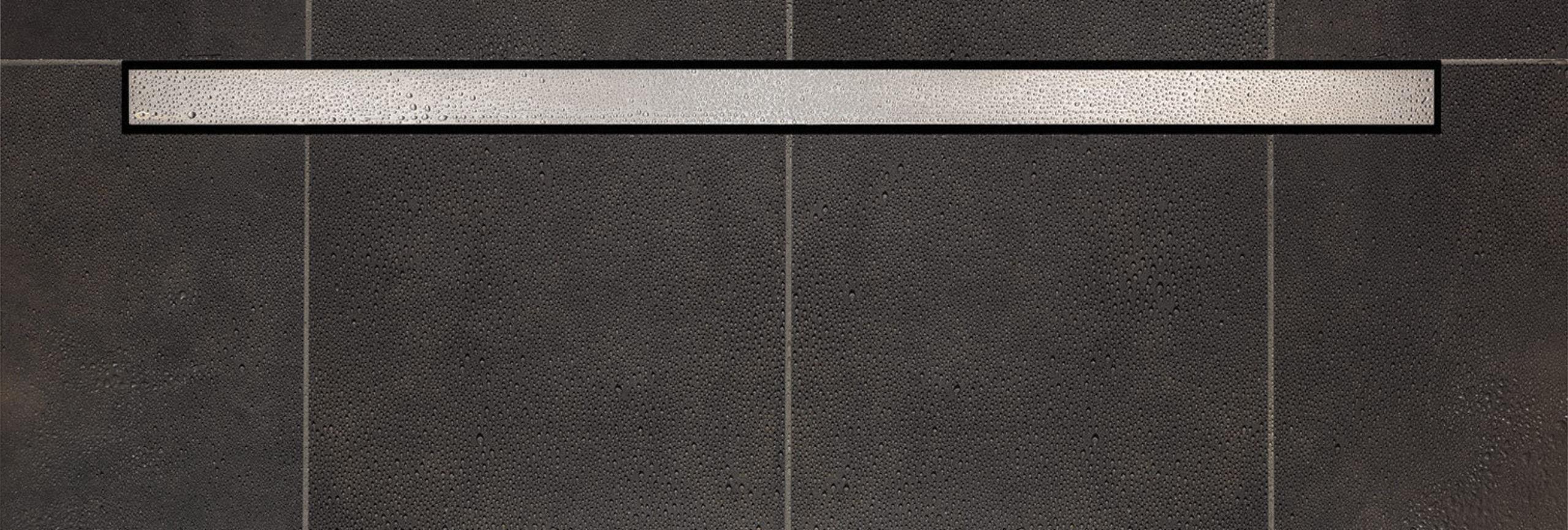 Cera Line Black Tile in