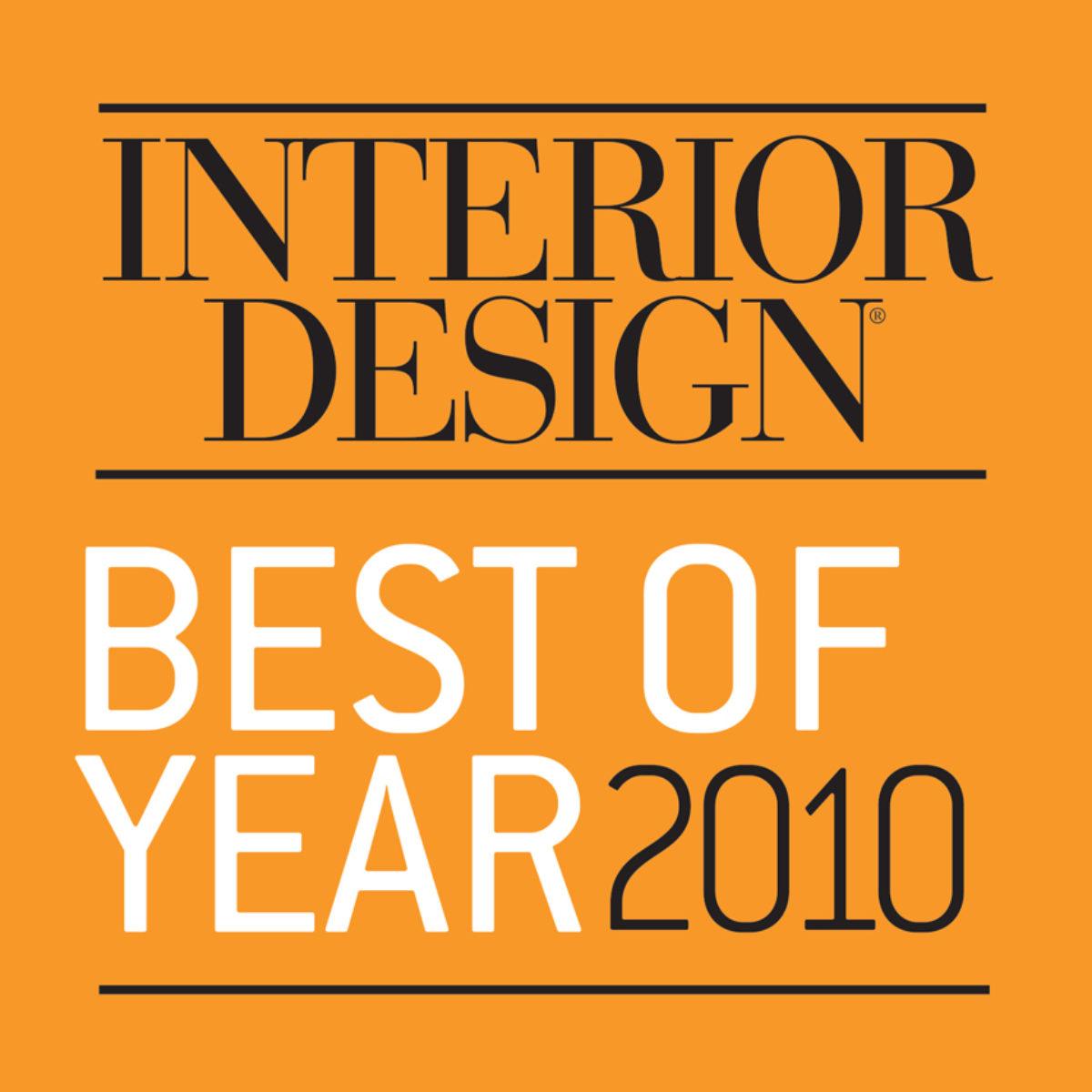 Interior Design Best of Year 2010 logo