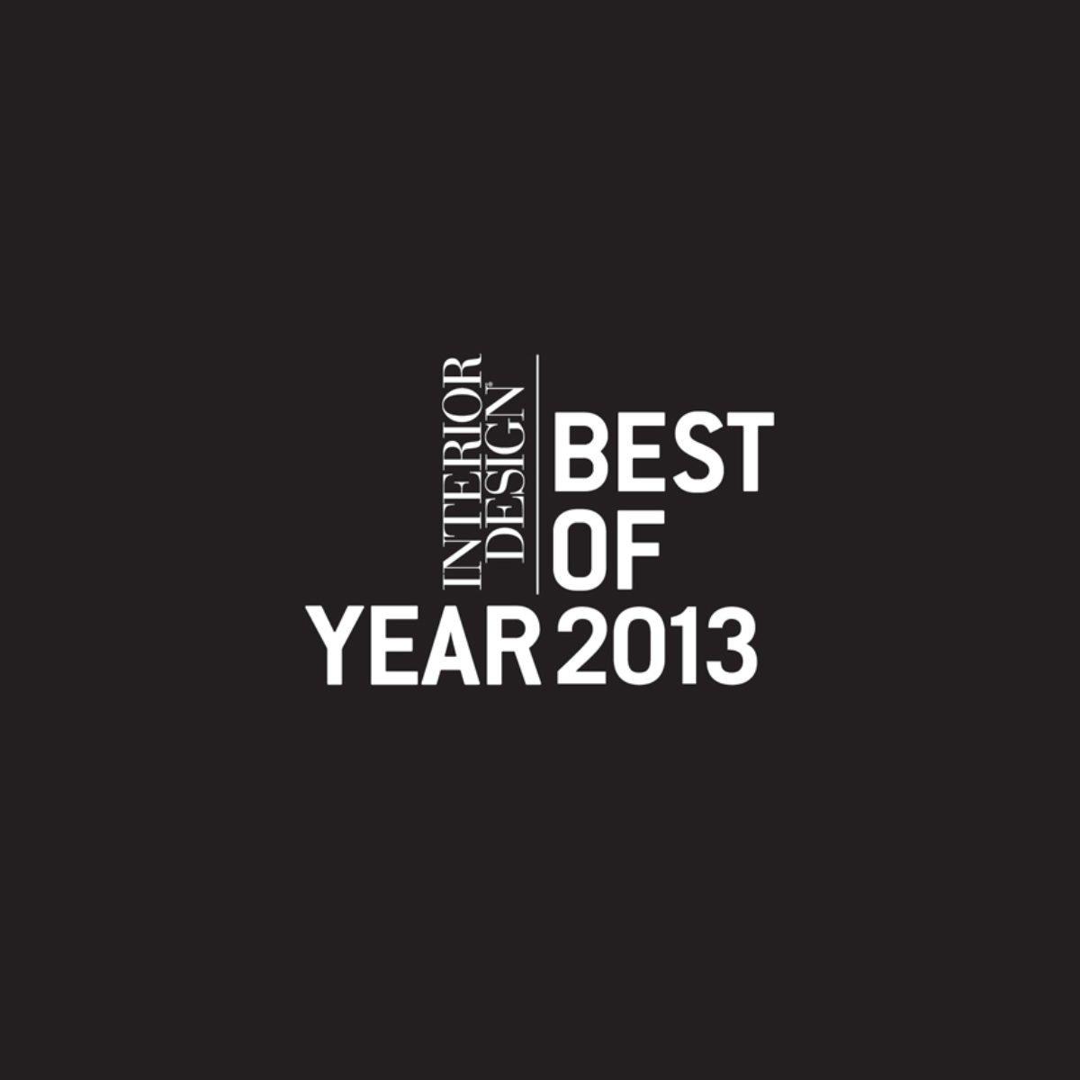 Interior Design Best of Year logo in white