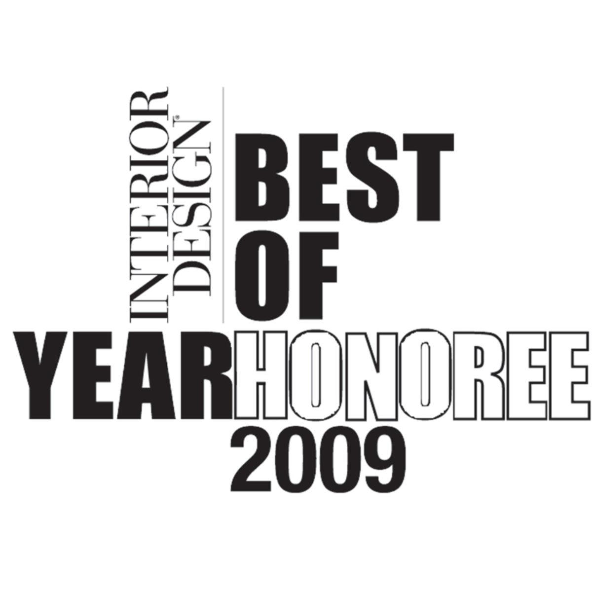 Interior Design Best of Year Honoree 2009 logo