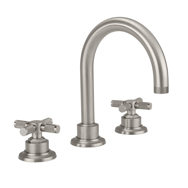 8 Widespread Lavatory Faucet With Knurled Handle 3102xk California Faucets