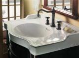 Montecito faucet in Rustico Bronze