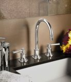 Miramar faucet in polished nickel