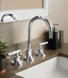 Tiburon faucet in polished chrome
