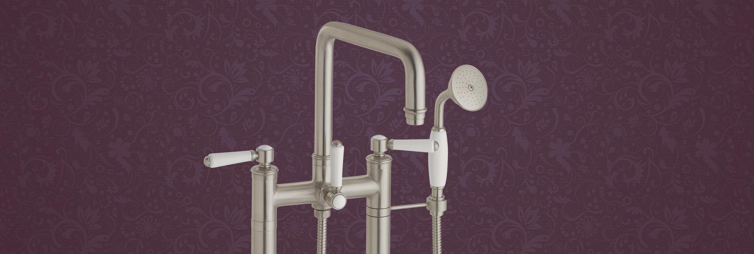 Bathroom series Hermosa tub filler floor mount